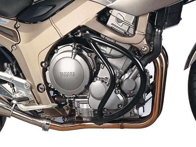 ヘプコ&ベッカー 正規品 エンジンガード YAMAHA TDM900 ブラック