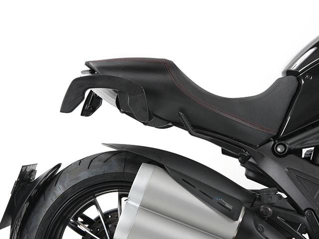 ヘプコ&ベッカー 正規品 サイドソフトケースホルダー(キャリア)「C-Bow」 Ducati Diavel