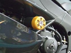 metisse ダンパー内蔵クラッシュパッド X-Pad Yamaha R1