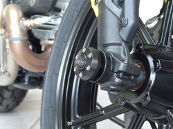 P&A International フロントフォークスライダー X-Pad (エックスパッド) Ducati Scrambler