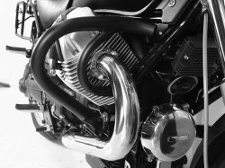 ヘプコ&ベッカー 正規品 エンジンガード (ブラック) Moto Guzzi C 940 Bellagio