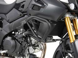 ヘプコ&ベッカー 正規品 エンジンガード ブラック Suzuki V-Strom1000('14-) ABS