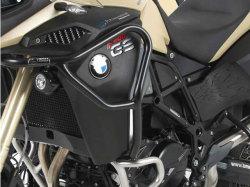 ヘプコ&ベッカー 正規品 タンクガード F800GS Adventure ブラック BMW純正エンジンガード用
