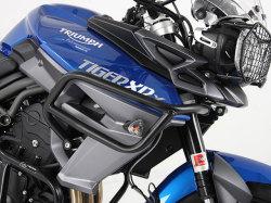 ヘプコ&ベッカー 正規品 タンクガード ブラック Triumph Tiger 800XC/X, Tiger 800XR/X
