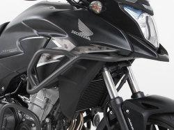 プコ&ベッカー 正規品 タンクガード HONDA 400X / CB500X ダークグレイ