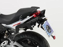 ヘプコ&ベッカー 正規品 サイドソフトケースホルダー(キャリア)「C-Bow」 aprilia SL 750 Shiver (2010-)