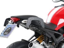 ヘプコ&ベッカー 正規品 サイドソフトケースホルダー(キャリア)「C-Bow」 Ducati Monster 1100 evo