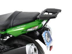 ヘプコ&ベッカー 正規品 Kawasaki ZZR1400 / ZX14R トップケースホルダー(キャリア) (アルミラック) ブラック