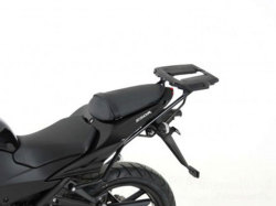 """ヘプコ&ベッカー 正規品 Kawasaki Ninja 250R トップケースホルダー(キャリア) """"アルミラック"""""""