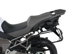 ヘプコ&ベッカー 正規品 サイドケースホルダー(キャリア) (Lock it system) ブラック Kawasaki Versys 1000