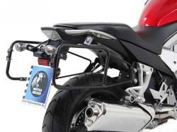 ヘプコ&ベッカー 正規品 HONDA Crossrunner(-'14) サイドケースホルダー(キャリア)(Lock it system) ブラック