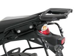 ヘプコ&ベッカー 正規品 SUZUKI SFV650 Gladius トップケースホルダー(キャリア) (アルミラック) ブラック