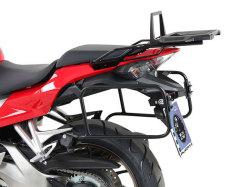 ヘプコ&ベッカー 正規品 サイドケースホルダー(キャリア) (Lock it system) ブラック Honda VFR800F