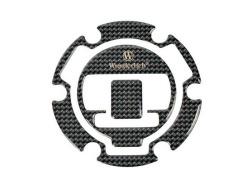 ワンダーリッヒ フィラーキャップカバー 3Dカーボンルック R1200RT(-'10)/K1300GT/R/S/G650GS