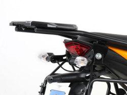 ヘプコ&ベッカー 正規品 Kawasaki Versys ('07-'09) トップケースホルダー(キャリア) (アルミラック) ブラック