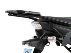 ヘプコ&ベッカー 正規品 Kawasaki Versys ('10-) トップケースホルダー(キャリア) (イージーラック) ブラック