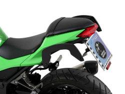 ヘプコ&ベッカー 正規品 サイドソフトケースホルダー(キャリア)「C-Bow」 Kawasaki Ninja250 ('13-) / Z250