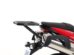 ヘプコ&ベッカー 正規品 Triumph StreetTriple トップケースホルダー(キャリア) (アルミラック) ブラック