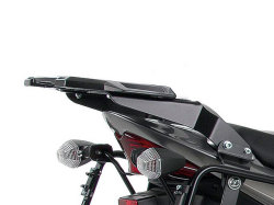 ヘプコ&ベッカー 正規品 SUZUKI Bandit 1250/S ('07-) トップケースホルダー(キャリア) (アルミラック) ブラック