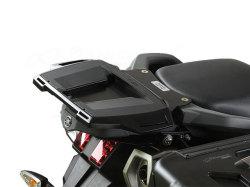 ヘプコ&ベッカー 正規品 YAMAHA XT660Z Tenere トップケースホルダー(キャリア) (アルミラック) ブラック
