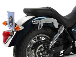 ヘプコ&ベッカー 正規品 サイドソフトケースホルダー(キャリア)「C-Bow」 Triumph Bonneville Amerika('11-) / Speedmaster('11-)