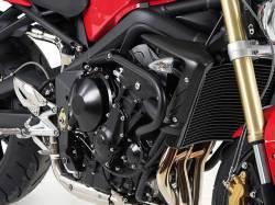 ヘプコ&ベッカー 正規品 エンジンガード Triumph StreetTriple('07-'12) ブラック