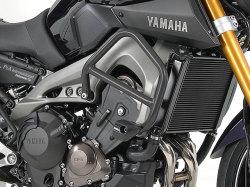 ヘプコ&ベッカー 正規品 エンジンガード ダークグレー Yamaha MT-09