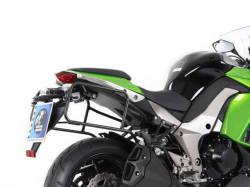 ヘプコ&ベッカー 正規品 サイドケースホルダー(キャリア) (Lock it system) ブラック Kawasaki Ninja1000('11-)