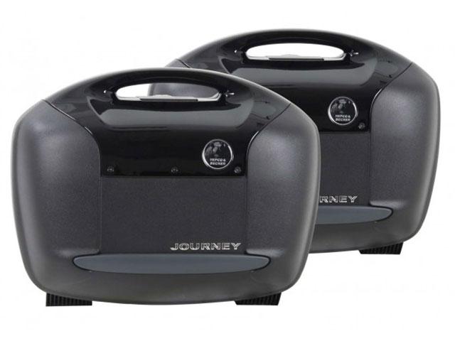 ヘプコ&ベッカー 正規品 サイドケース ジャーニー Journey 42 ブラック