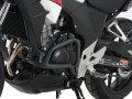ヘプコ&ベッカー 正規品 エンジンガード (ダークグレイ) ホンダ 400X / CB500X