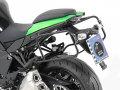ヘプコ&ベッカー 正規品 サイドケースホルダー(キャリア) (Lock it system) ブラック Kawasaki Ninja1000(15-)