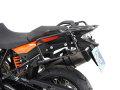 ヘプコ&ベッカー 正規品 サイドケースホルダー(キャリア) (Lock it system) ブラック KTM 1190 Adventure