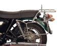 ヘプコ&ベッカー 正規品 トップ・サイドケースホルダー(キャリア)セット クローム Triumph Bonneville / T100 / SE