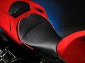 Sargent シート Ducati Streetfighter レギュラーフロントシート パイピング:レッド