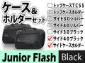 ヘプコ&ベッカー サイドケース ホルダーセット Junior Flash 40 ブラック