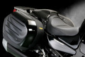 Sargent シート Kawasaki 1400 GTR ('08-) レギュラーフロントシート パイピング:シルバー