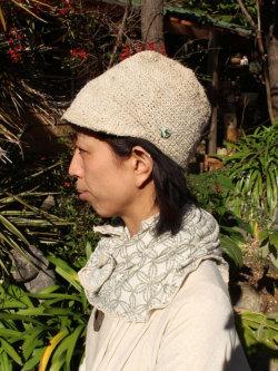 asana HEMP手編みハット