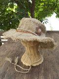 asana 手織りHEMPハット