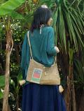 葛編みバッグ