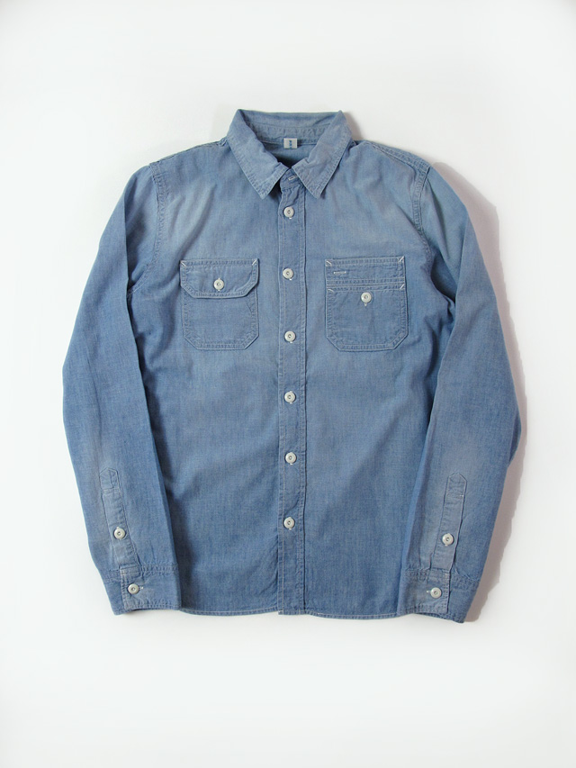 [2195] Chambray Sunburned Shirt