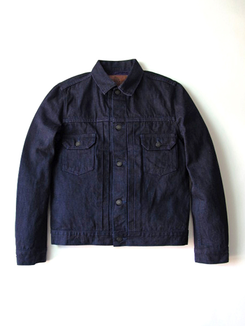 [6083] 14oz. Purple Face Denim Type II Jacket