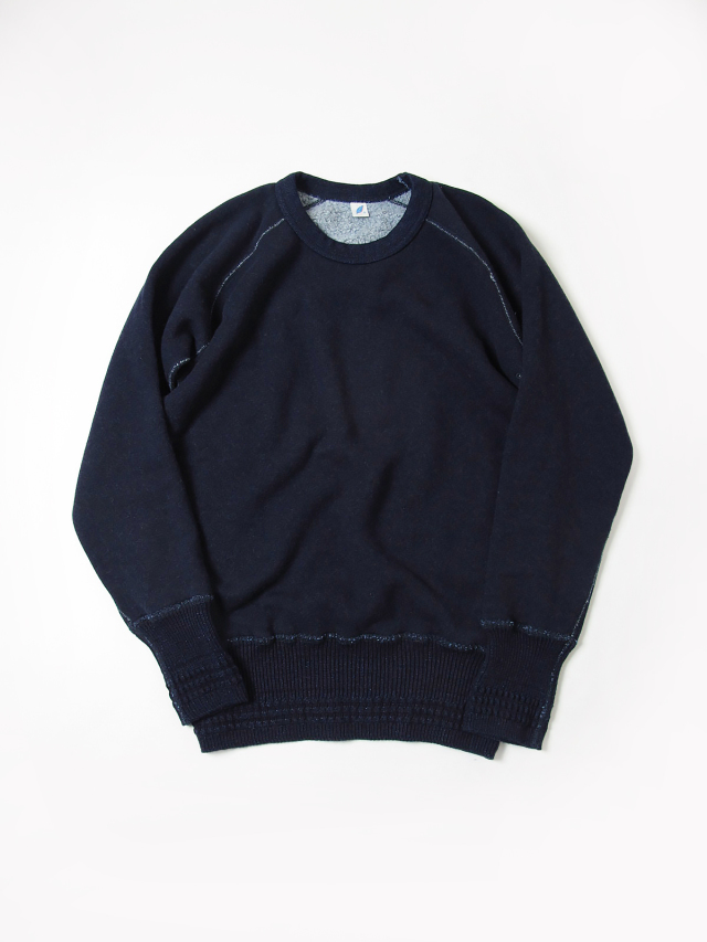 [5360] Indigo Raised Back Sweatshirt