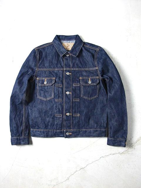 [6080] 17.5オンス 天然藍デニムジャケット