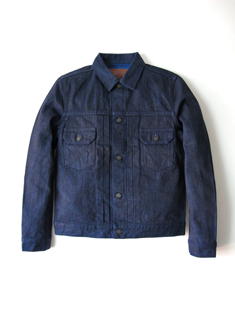 [6082] 14oz. Cobalt Denim Type II Jacket
