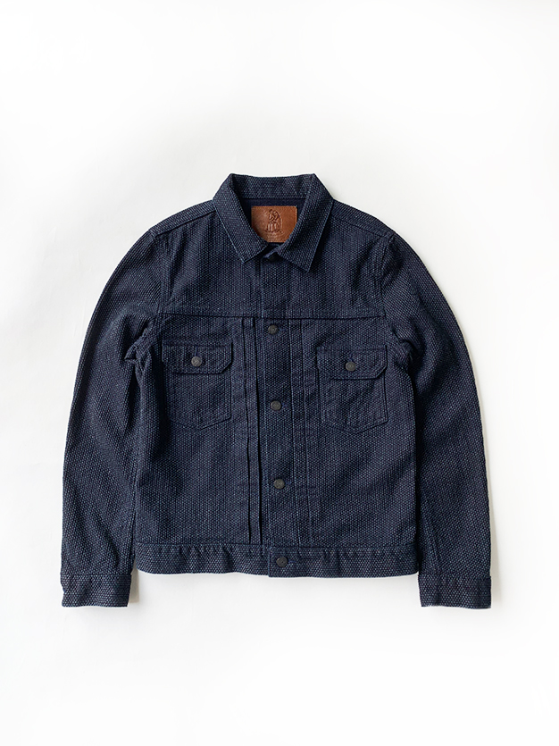 [6096] Selvedge Sashiko Denim Type 2 Jacket