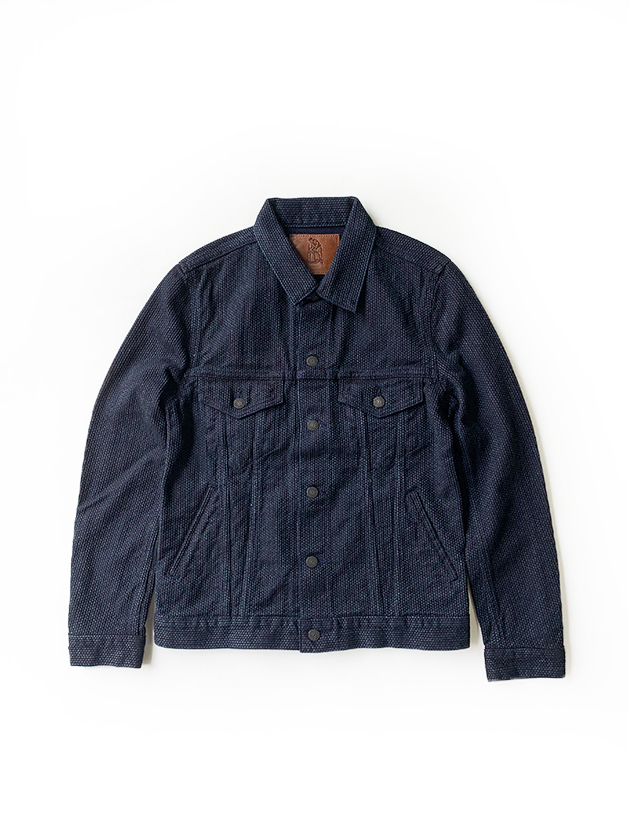 [6097] Selvedge Sashiko Denim Type 3 Jacket