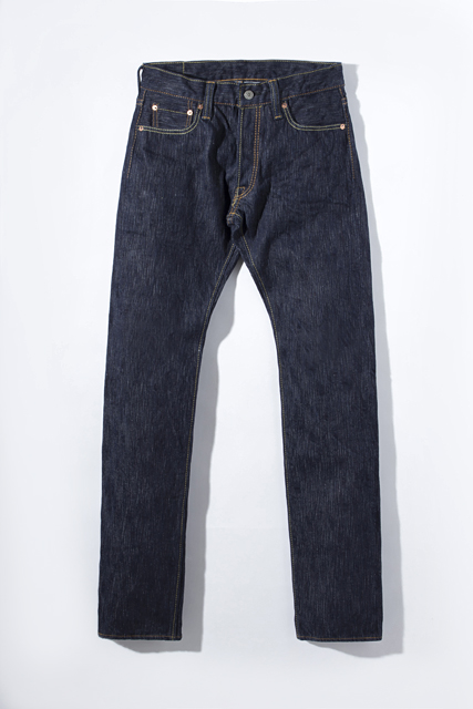 [AI-013] 17.5oz. Natural Indigo Slim Tapered