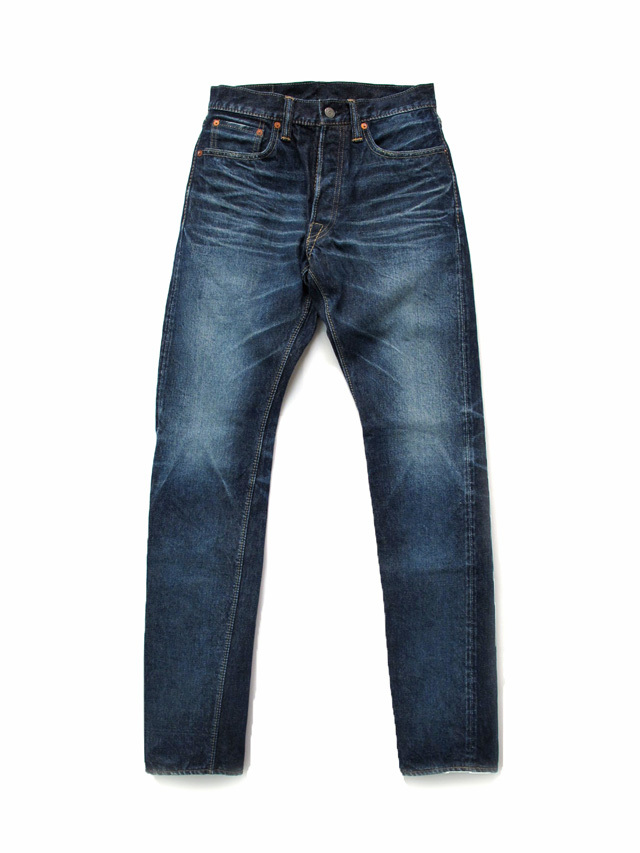 [HD-019] 14oz. Hand Distressed Relaxed Tapered