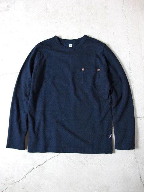 [LS-5340] スラブ天竺ポケット付き長袖Tシャツ
