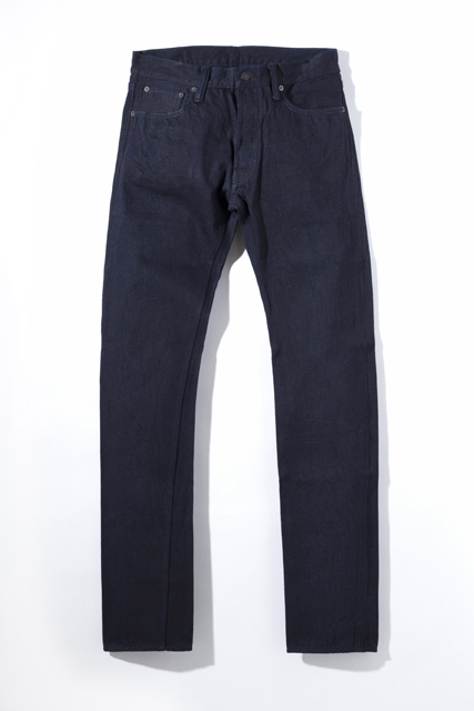 [XX-012] 14oz. Deep Indigo Slim Tapered